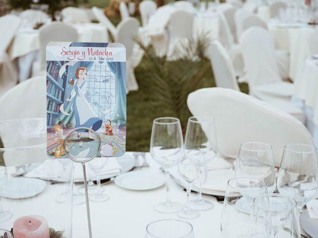 La boda de Sergio y Natacha en Zarza De Granadilla, Cáceres 37