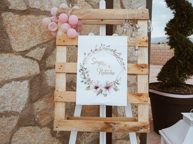 La boda de Sergio y Natacha en Zarza De Granadilla, Cáceres 40
