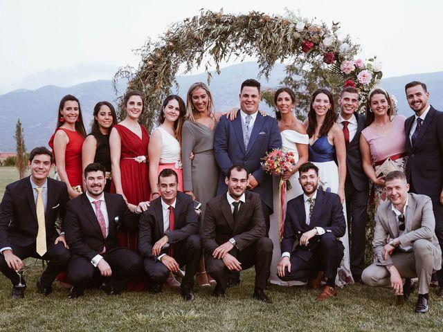La boda de Sergio y Natacha en Zarza De Granadilla, Cáceres 61