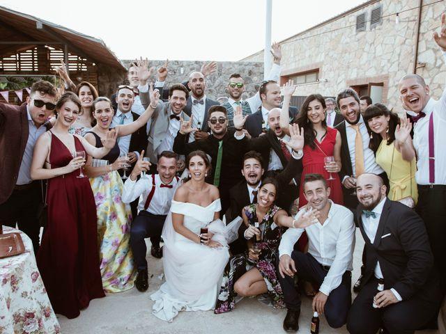 La boda de Sergio y Natacha en Zarza De Granadilla, Cáceres 63