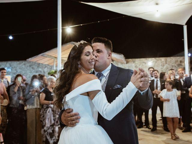 La boda de Sergio y Natacha en Zarza De Granadilla, Cáceres 71