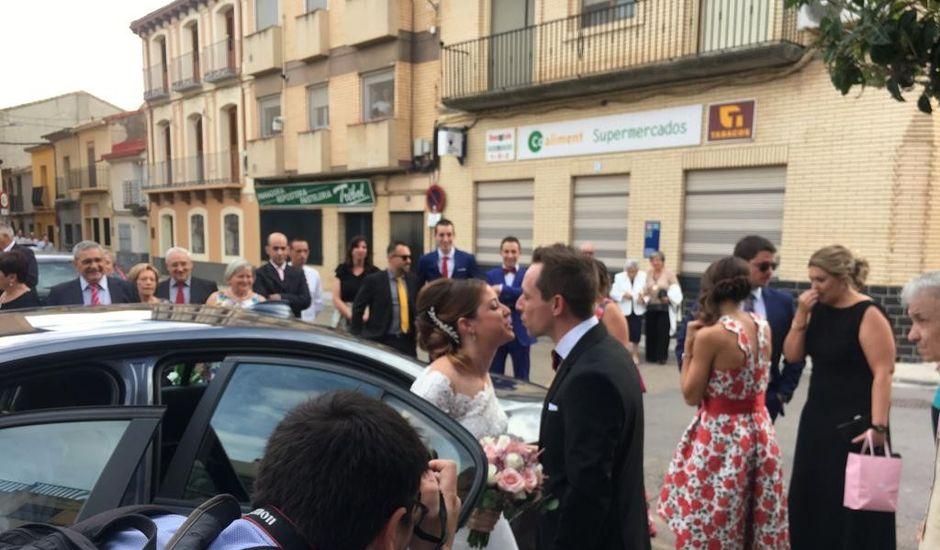 La boda de Jose y Sara en Torres De Berrellen, Zaragoza