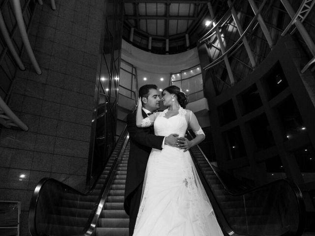 La boda de David  y Kristel  en Collado Villalba, Madrid 2