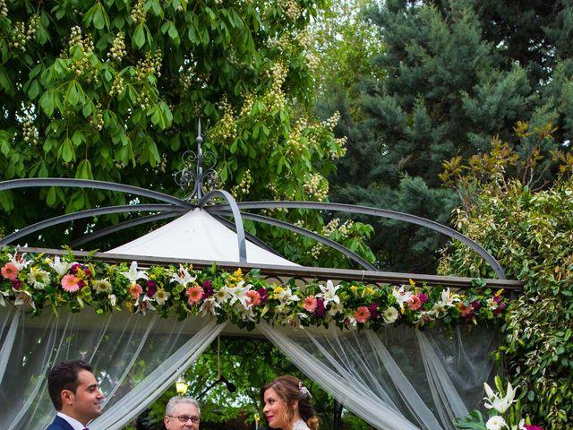 La boda de David  y Kristel  en Collado Villalba, Madrid 25