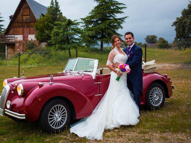La boda de David  y Kristel  en Collado Villalba, Madrid 43
