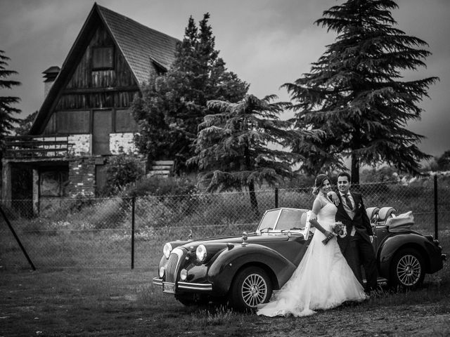 La boda de David  y Kristel  en Collado Villalba, Madrid 46
