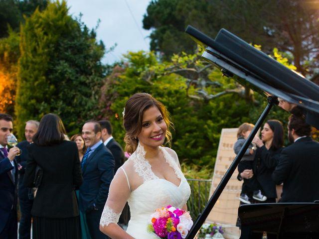 La boda de David  y Kristel  en Collado Villalba, Madrid 47