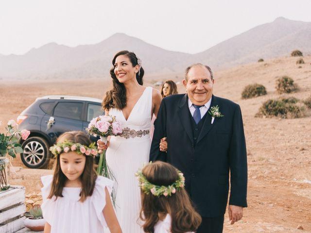 La boda de Antonio y Mar en San Jose, Almería 15
