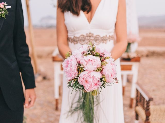 La boda de Antonio y Mar en San Jose, Almería 23