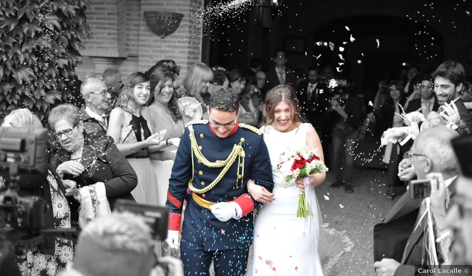 La boda de Alberto y Sara en Trujillo, Cáceres