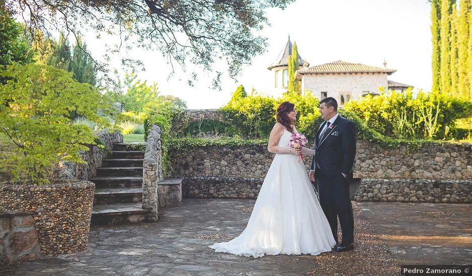 La boda de José y Belen en Mangiron, Madrid