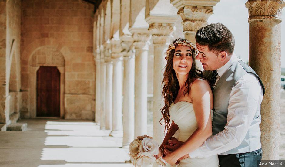 La boda de Ángel y Rut en Valdefresno, León