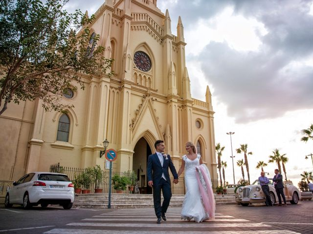 La boda de Elena y Edu en Sanlucar De Barrameda, Cádiz 24