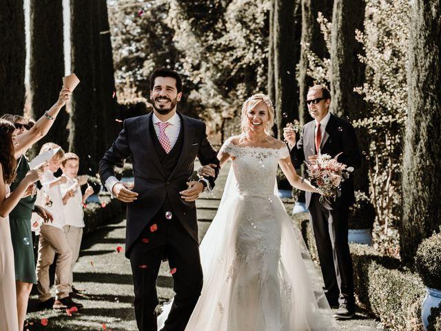 La boda de Carlos y Marta en Torremocha Del Jarama, Madrid 95