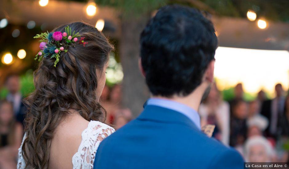 La boda de Alfonso y Teresa en El Puntal (Espinardo), Murcia