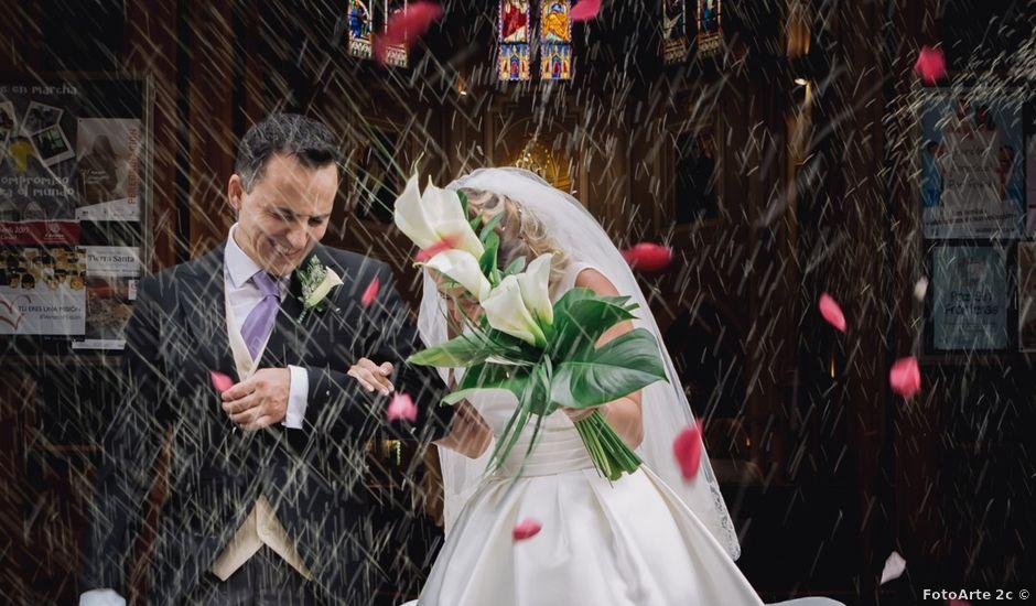 La boda de Antonio y Verónica en Collado Villalba, Madrid