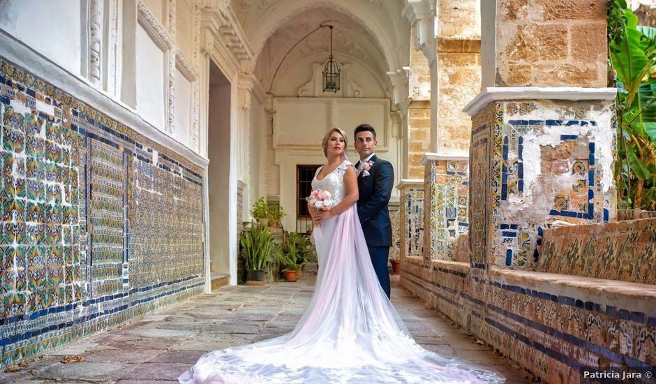 La boda de Elena y Edu en Sanlucar De Barrameda, Cádiz