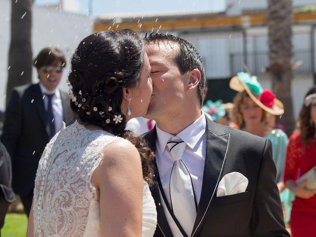La boda de Jesús  y Lorena en Bollullos Par Del Condado, Huelva 1