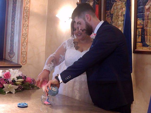 La boda de Estrella  y David