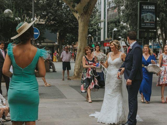 La boda de Alberto y Ana Belén en Ballesteros De Calatrava, Ciudad Real 27