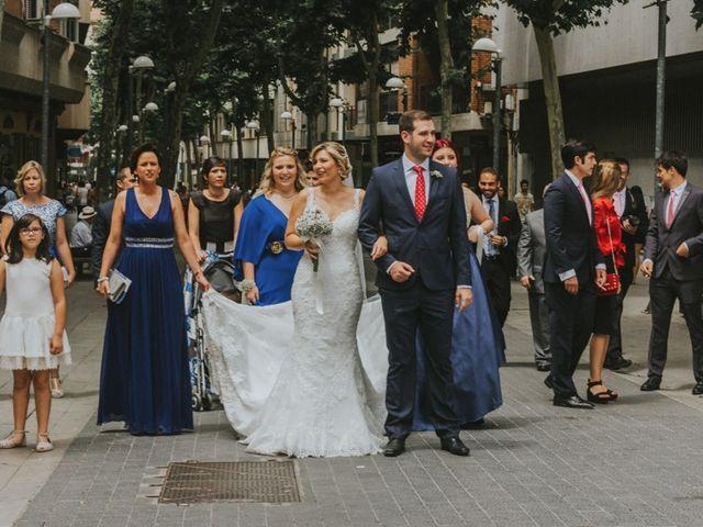 La boda de Alberto y Ana Belén en Ballesteros De Calatrava, Ciudad Real 29