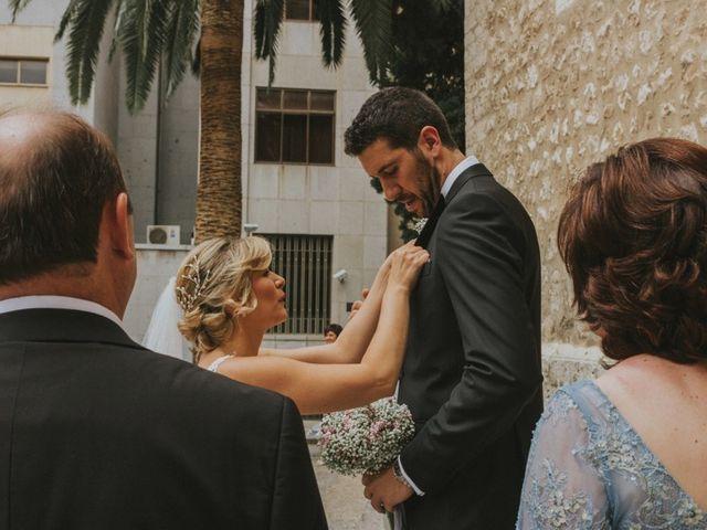 La boda de Alberto y Ana Belén en Ballesteros De Calatrava, Ciudad Real 33