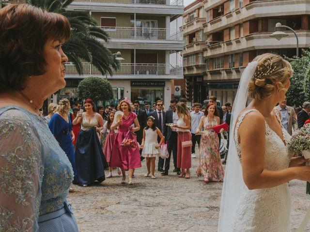 La boda de Alberto y Ana Belén en Ballesteros De Calatrava, Ciudad Real 34