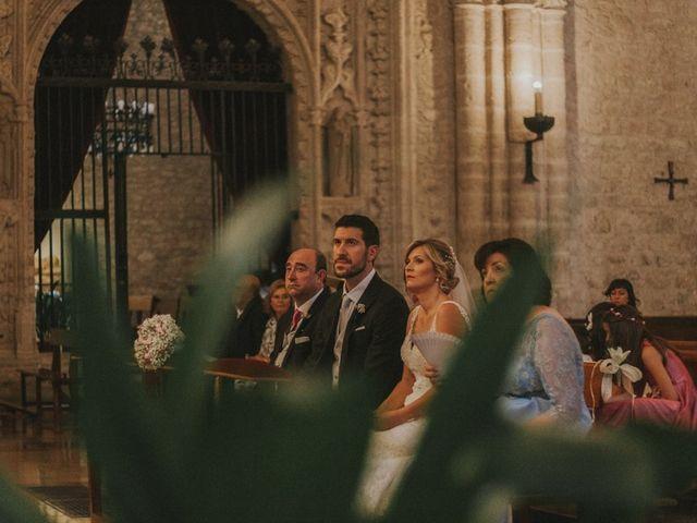 La boda de Alberto y Ana Belén en Ballesteros De Calatrava, Ciudad Real 37