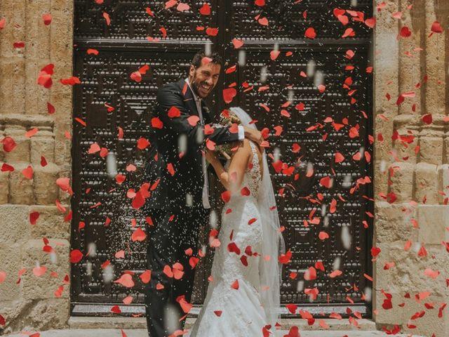 La boda de Alberto y Ana Belén en Ballesteros De Calatrava, Ciudad Real 1
