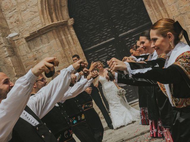 La boda de Alberto y Ana Belén en Ballesteros De Calatrava, Ciudad Real 39