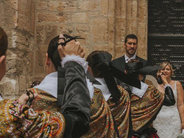 La boda de Alberto y Ana Belén en Ballesteros De Calatrava, Ciudad Real 40
