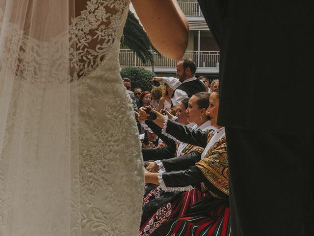 La boda de Alberto y Ana Belén en Ballesteros De Calatrava, Ciudad Real 41