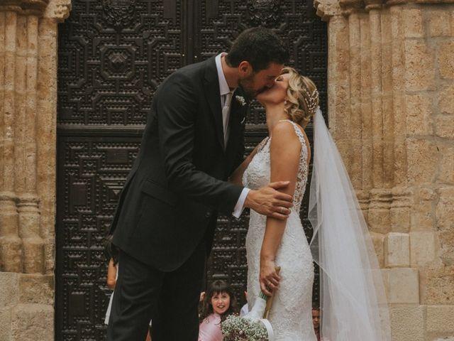 La boda de Alberto y Ana Belén en Ballesteros De Calatrava, Ciudad Real 43