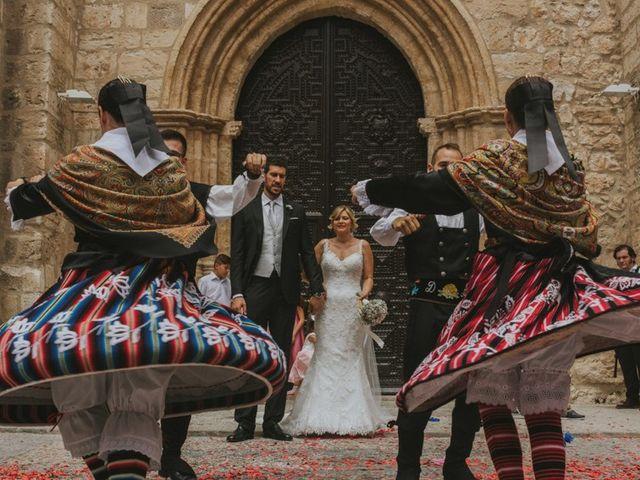 La boda de Alberto y Ana Belén en Ballesteros De Calatrava, Ciudad Real 44