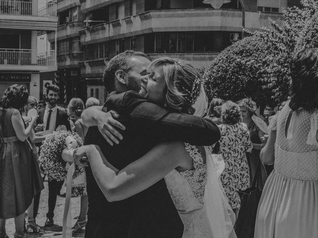 La boda de Alberto y Ana Belén en Ballesteros De Calatrava, Ciudad Real 45