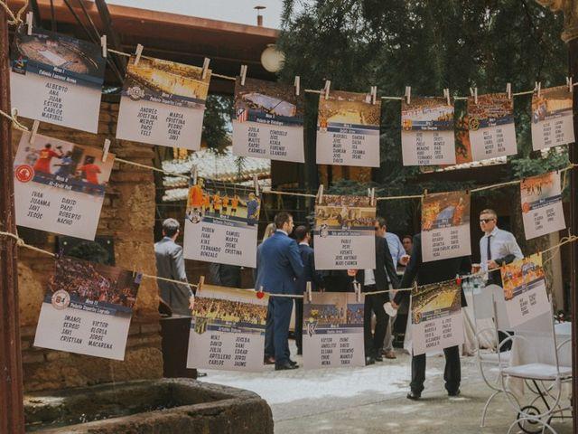 La boda de Alberto y Ana Belén en Ballesteros De Calatrava, Ciudad Real 46
