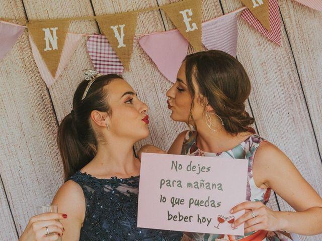 La boda de Alberto y Ana Belén en Ballesteros De Calatrava, Ciudad Real 59