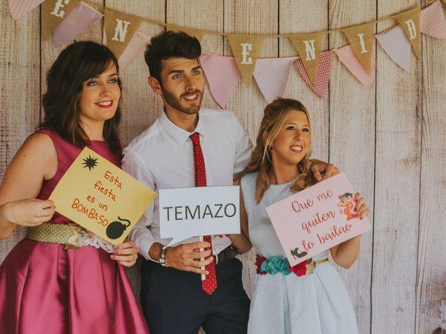 La boda de Alberto y Ana Belén en Ballesteros De Calatrava, Ciudad Real 60