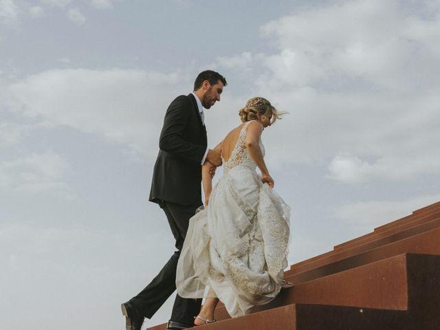 La boda de Alberto y Ana Belén en Ballesteros De Calatrava, Ciudad Real 76