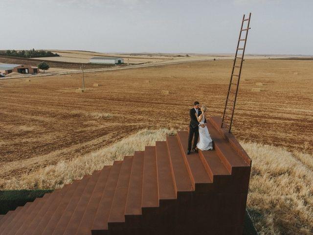 La boda de Alberto y Ana Belén en Ballesteros De Calatrava, Ciudad Real 82