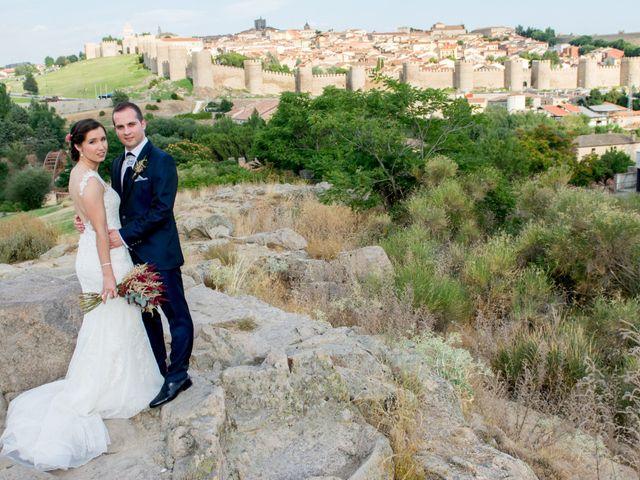La boda de Javier y María en Ávila, Ávila 12