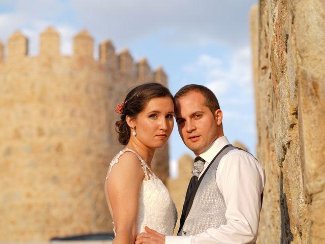 La boda de Javier y María en Ávila, Ávila 46