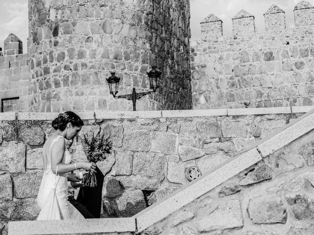La boda de Javier y María en Ávila, Ávila 47