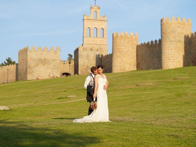 La boda de Javier y María en Ávila, Ávila 48