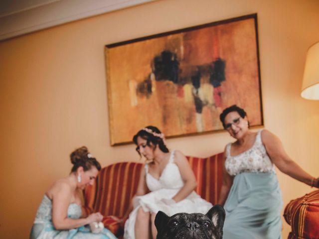 La boda de Nuria y Manuel en Caracuel De Calatrava, Ciudad Real 1