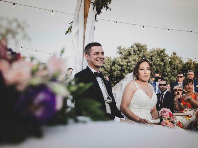 La boda de Nuria y Manuel en Caracuel De Calatrava, Ciudad Real 27