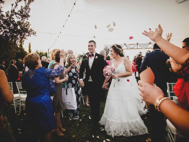 La boda de Nuria y Manuel en Caracuel De Calatrava, Ciudad Real 33