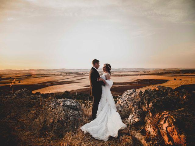La boda de Nuria y Manuel en Caracuel De Calatrava, Ciudad Real 34