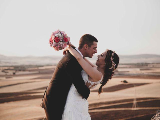 La boda de Nuria y Manuel en Caracuel De Calatrava, Ciudad Real 35