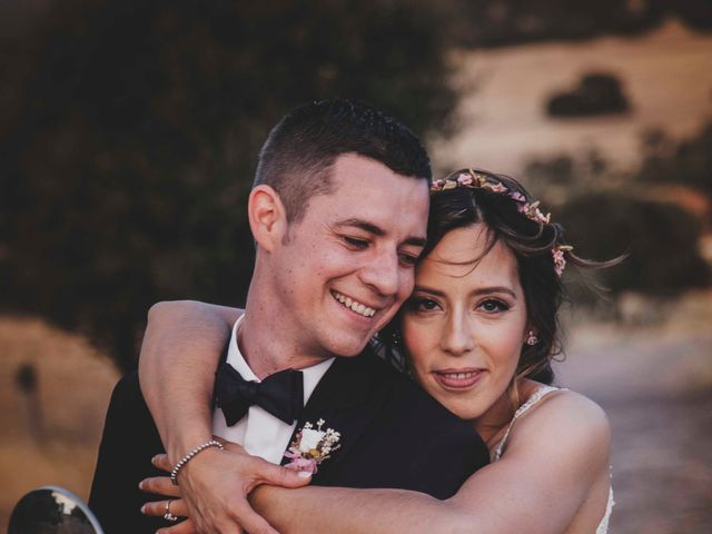 La boda de Nuria y Manuel en Caracuel De Calatrava, Ciudad Real 38